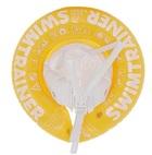 Надувной круг для плавания Swimtrainer желтый