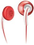 Наушники Philips SHE3650 красные