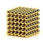 Неокуб Золотой 216 шариков (Neocube-Crazyballs) (7 мм)