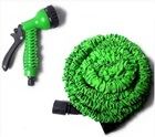 Поливочный шланг Magic Hose (Xhose) увеличивающийся в 3 раза (60 м) + насадка-распылитель зеленый