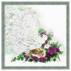 """Набор для вышивания крестиком Риолис Premium 100/030 """"Сад Махараджи"""" 50см*50см"""