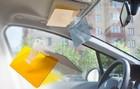 Солнцезащитный козырек для водителя от солнца и встречного света фар HD-Vizor