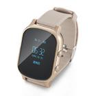 Часы Smart Watch T58 с GPS и функцией телефона (gold)