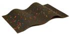 Ляпко массажный коврик Здоровье, 7 сегментная, шаг игл 4.3 мм