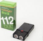 Ультразвуковой отпугиватель Торнадо 112 DUO (10 кв.м.) черный