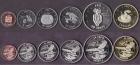 Набор монет резервация Ла-Поста 2013 (6 монет)