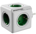 Allocacoc PowerCube Original сетевой разветвитель (Green)