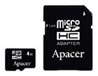 Apacer microSDHC Card Class 4 4GB + SD adapter