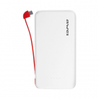 Универсальный внешний аккумулятор Awei P10K white