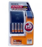 Зарядное устройство для аккумуляторов Sony ULTRA 15 BCG-34HUE4