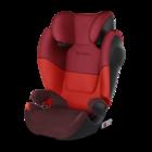 Автокресло группа 2/3 (15-36 кг) Cybex Solution M-Fix SL Rumba Red