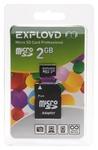 EXPLOYD microSD 2GB + SD adapter