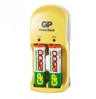 Зарядное устройство GP PowerBank S350 (NiMH, AA/AAA) +AAx4шт. аккумулятора