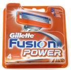 Gillette Fusion Power сменные лезвия (4 шт)