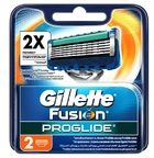 Gillette Fusion ProGlide сменные лезвия (2 шт)