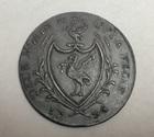 Монета 1/2 пенни Великобритания 1794 г (Georgian Liverpool Halfpenny, Liverpool Half-Penny Token)