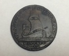 Монета 1/2 пенни Великобритания 1795 г (thames & Severn Barge Canal, Conder 1/2 Penny Token)