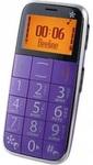 Мобильный телефон Just5 CP10 фиолетовый