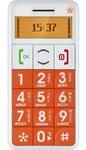 Мобильный телефон Just5 cp09 оранжевый