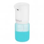 Дозатор сенсорный для мыла-пены Kitfort KT-2045, белый/голубой