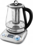 Чайник Kitfort KT-646, серебристый