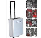 Набор инструментов Komfort KF-1060 (187 предметов) в серебряном чемодане