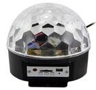 Светодиодный вращающийся Диско-шар LED RGB Magic Ball Light (с MP3-плеером и пультом)