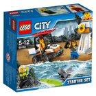 LEGO City 60163 Набор для начинающих береговых охранников