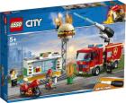 Конструктор LEGO City 60214 Пожар в бургер-кафе