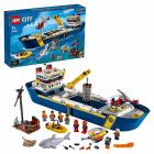 Конструктор LEGO City 60266 Океан: исследовательское судно