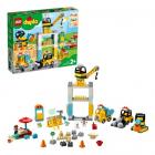 Конструктор LEGO DUPLO 10933 Башенный кран на стройке
