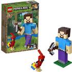 Конструктор LEGO Minecraft 21148 Стив с попугаем