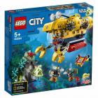 Конструктор Lego City 60264 Океан: исследовательская подводная лодка