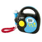 Караоке детский MP3 Karaoke Garageband black (88073)