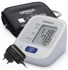 Тонометр автоматический Omron m2 basic New с универсальной манжетой и адаптером (HEM-7121-ALRU)