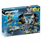 Набор с элементами конструктора Playmobil Top Agents 9250 Командный центр Доктора Дрона