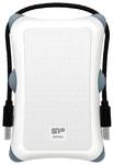 "Внешний жесткий диск 1TB Silicon Power Armor A30, 2.5"", USB 3.0, Белый"
