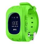 Детские часы Smart Baby Watch Q50 с GPS и функцией телефона (зеленые)