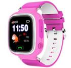 Детские часы Smart Baby Watch Q80 (розовые)