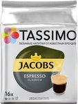 Кофе в капсулах Tassimo Jacobs Espresso Classico (16 шт.)