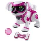 Интерактивная игрушка Manley Toys Собака Teksta Pupp розовая