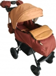 Прогулочная коляска babyhit Travel Air коричневый