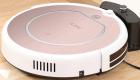 Робот-пылесос ILIFE V50 Pro, розовый/белый