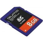 Qumo SDHC Card 8Gb Class 6 (qm8gsdhc6)