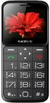 Телефон teXet ТМ-В226 черный-красный