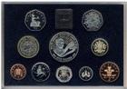 Набор из 10 монет Великобритания 1998 г Proof (50-летие принца Уэльского)