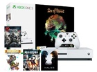 Игровая приставка Microsoft Xbox One S,1ТБ + Xbox Game Pass 1 мес. + Xbox Live Gold 1 мес. + 5 игр (Sea of Thieves, Halo 5,Gears of War 4, Rare Replay, Dead Rising)